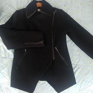 NWOT Trina Turk Asymmetrical Pea Coat